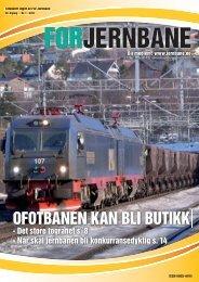 OFOTBANEN KAN BLI BUTIKK - For Jernbane