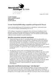110404 Program Öxeryd - Naturskyddsföreningen