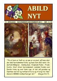 Abild-Nyt, nov.-dec. 2011 - NYSYNET.DK
