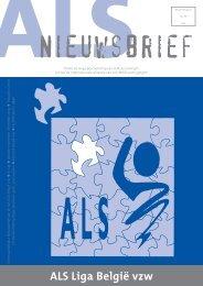 ALS Liga België vzw. Rekeningnummer 385-0680703-20