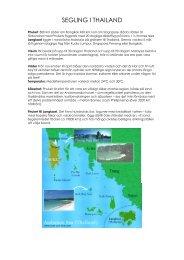 Mer information och ruttförslag - Navigare Yachting