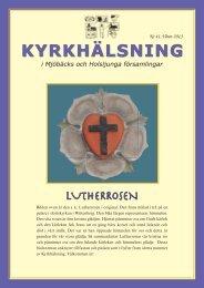 Kyrkfönstret nr 41.indd - Svenska kyrkan i Mjöbäck, Överlida och ...