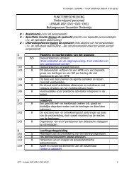 FUNCTIEBESCHRIJVING Onderwijzend personeel LERAAR ASV ...