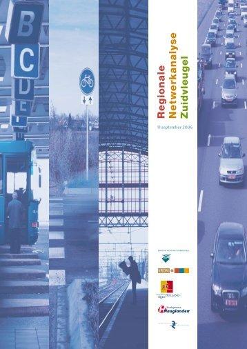 BIJLAGE VER 2006-09-20 12 bijlage 1 zuidvleugel.pdf - Stadsregio ...