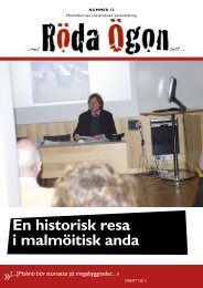 Download (PDF, 1.24MB) - Malmös socialistiska veckotidning