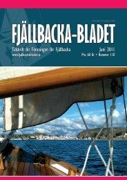Juni 2011 Tidskrift för Föreningen för Fjällbacka