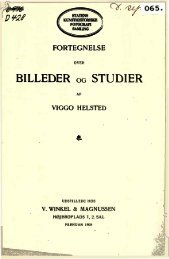 BILLEDER OG STUDIER