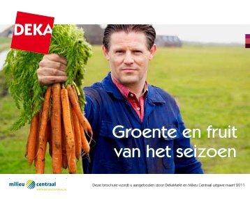 Groente en fruit van het seizoen - Dekamarkt
