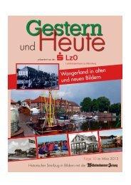 Wangerland in alten und neuen Bildern - Wilhelmshavener Zeitung
