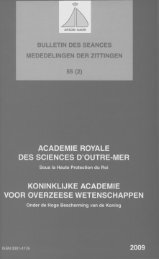 (2009) n°2 - Royal Academy for Overseas Sciences