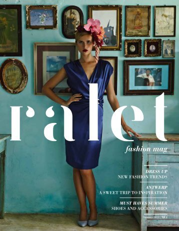 RALET fashion magazine