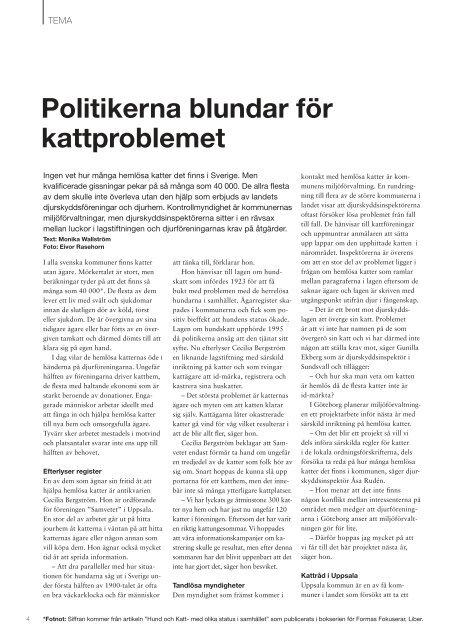 KATT - Djurskyddet Sverige