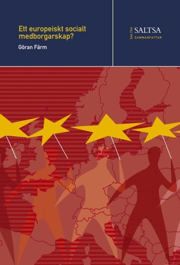 Ett europeiskt socialt medborgarskap? - Ekonomisk-historiska ...
