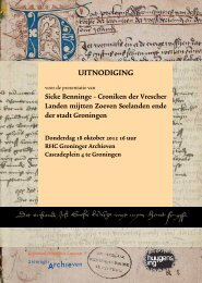 UITNODIGING - Historici.nl