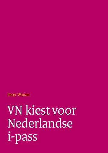 VN kiest voor Nederlandse i-pass - Forum Standaardisatie