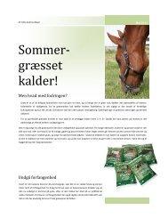 Sommer- græsset kalder! - Dangro Nordic A/S