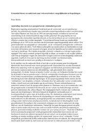 Grounded theory en onderzoek naar ... - Politieacademie