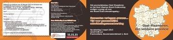 gemeenten verleggen grenzen 2013 - Wereldcentrum