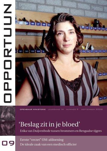 'Beslag zit in je bloed' - Openbaar Ministerie
