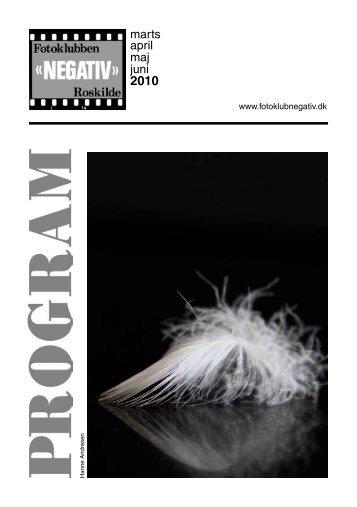 Program 2010 marts - Fotoklubben NEGATIV