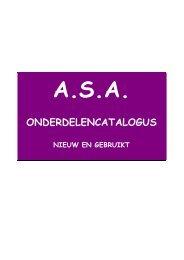 X19 catalogus - Auto Service Andelst