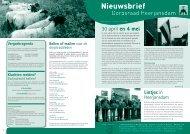 Nieuwsbrief nr 3 2009 - Dorpsraad Heerjansdam