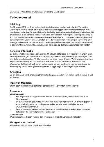 Vaststelling_projectbesluit_Ontsluiting_Giersberge - Gemeente ...