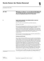 brief inzake informering over Sectorbeeld voornemens 2012-2016 ...