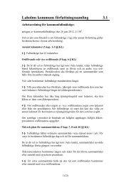 3.1 Kommunfullmäktige (pdf 28 KB, nytt fönster) - Laholms kommun