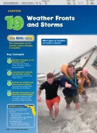 Weather Fronts and Storms - Barrington Middle School Home Page