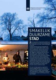 magazine - Smakelijk Duurzame Stad