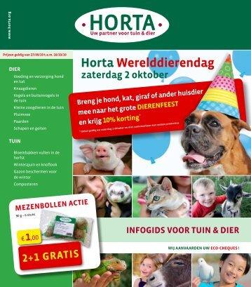 horta Werelddierendag - Tuincentrum Welters-Verelst