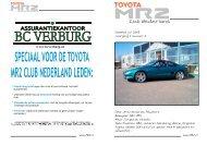 Juli - Toyota MR2 Club Nederland