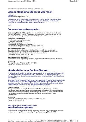 PDF van deze Gemeentepagina - Gemeente Meerssen