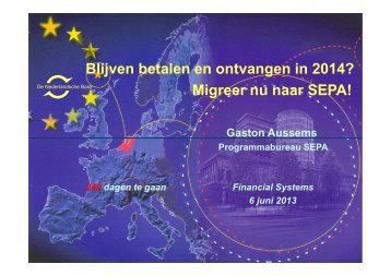 DNB - SEPA - Financial Systems