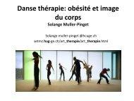 Danse thérapie - SEFor - Formation en Éducation Thérapeutique du ...