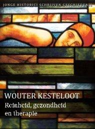 Wouter Kesteloot (pdf) - Jonge Historici Schrijven Geschiedenis