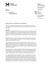Vurdering af den særlige problemstilling vedrørende overflytning af ...