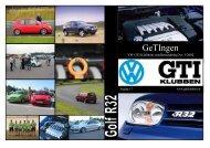 GeTingen Mk3 2002 - VW GTi Klubben