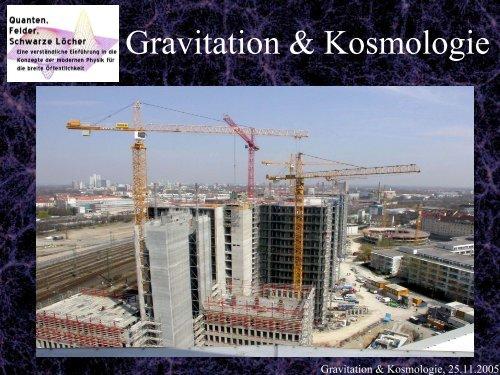 Gravitation & Kosmologie