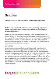 Scabies - Tergooi