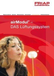 airModul® – DAS Lüftungssystem - Friap AG