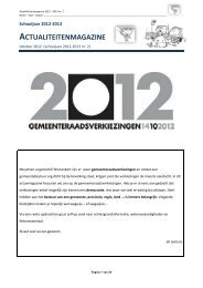 Actualiteitenmagazine september 2010 (nr. 1) - Plantyn