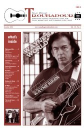 October 2010 PDF Issue - San Diego Troubadour