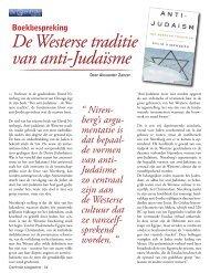 De Westerse traditie van anti-Judaïsme - De Centrale