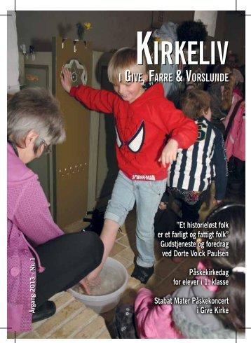 KirKeliv - aKtiviteter - Give Sogn