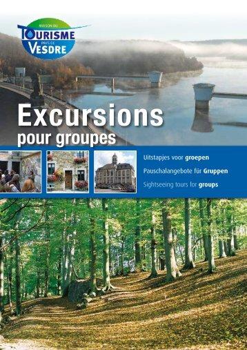 Excursions - Maison du tourisme du Pays de Vesdre