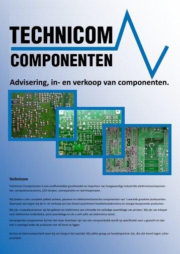 Advisering, in- en verkoop van componenten. - Technicom
