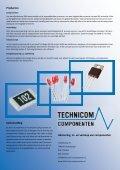 Advisering, in- en verkoop van componenten. - Technicom - Page 4