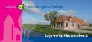 Logeren op Harssensbosch - Stichting Het Groninger Landschap